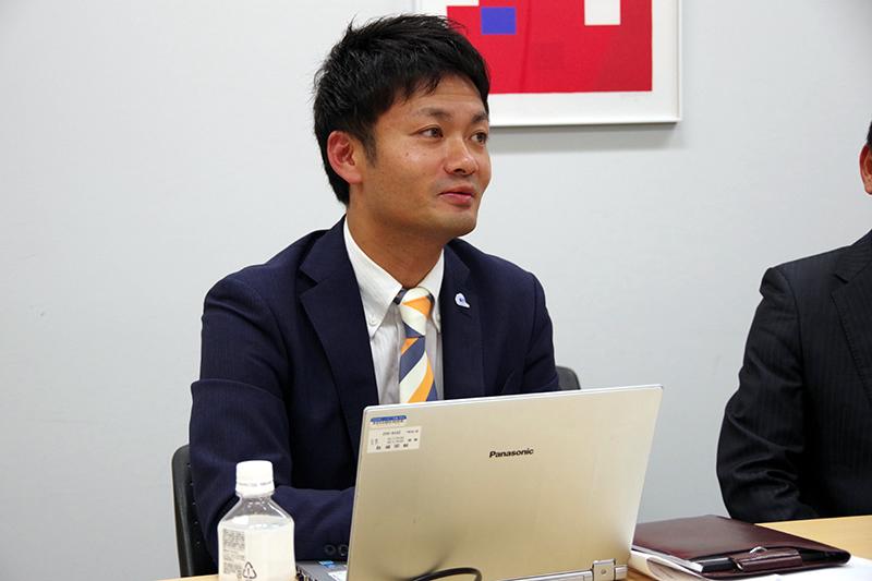 東京第二支店 菅野支店長